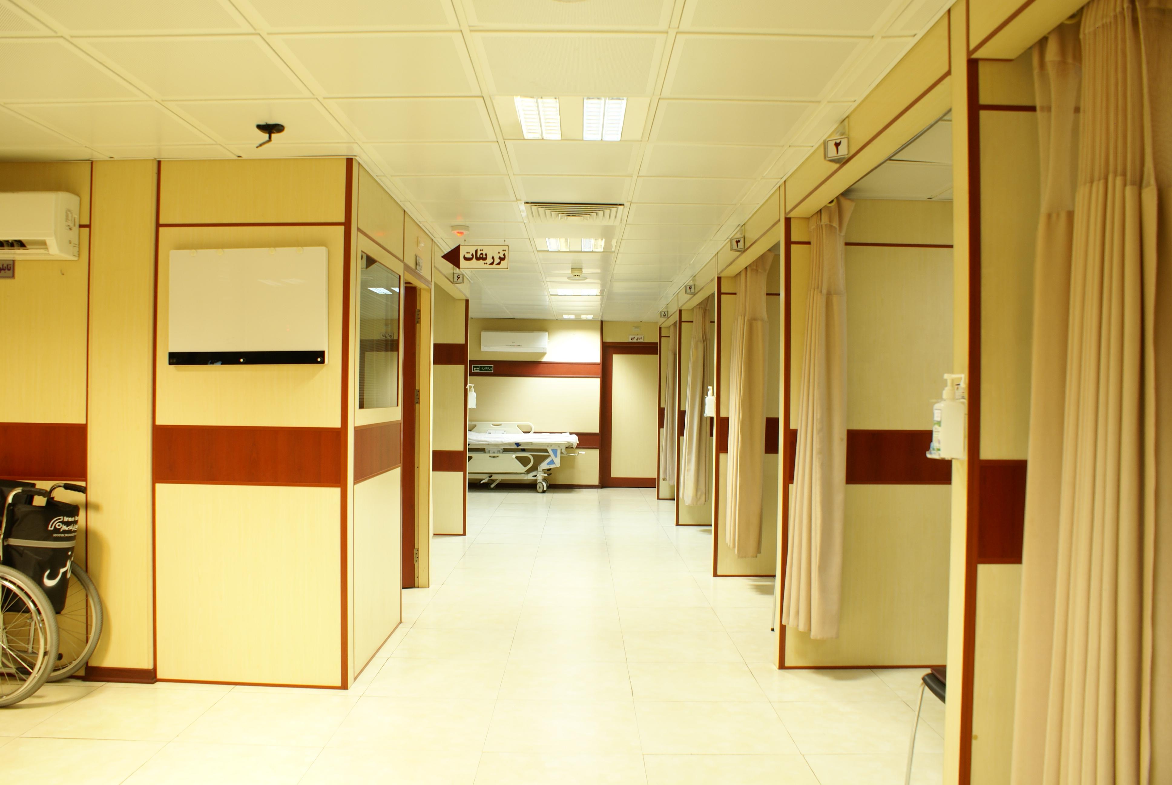 اتاقهای ویزیت اورژانس